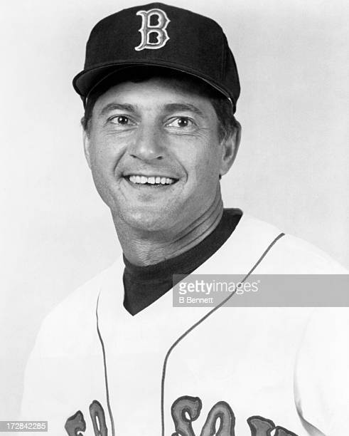Carl Yastrzemski of the Boston Red Sox poses for a portrait circa 1980 at Fenway Park in Boston Massachusetts