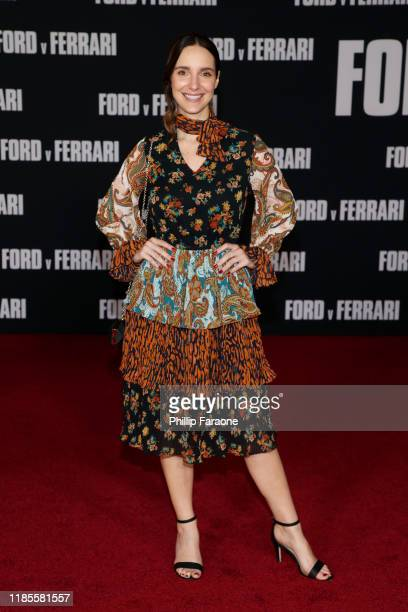 Carla Baratta attends the premiere of FOX's Ford V Ferrari at TCL Chinese Theatre on November 04 2019 in Hollywood California