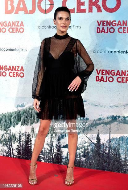 "Carla Barber attends ""Venganza Bajo Cero"" Madrid Premiere on July 15, 2019 in Madrid, Spain."