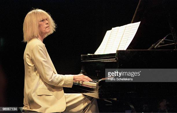 Carla Bley performs live on stage at Bimhuis in Amsterdam, Holland on April 14 2002