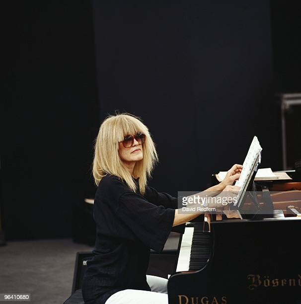 Carla Bley performs on stage at teh Vienne Jazz Festival in July 1993 in Vienne France Image is part of David Redfern Premium Collection