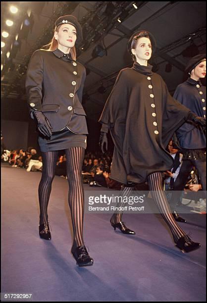 Carla Bruni Chantal Thomas ready to wear fashion show spring summer 1991 collection