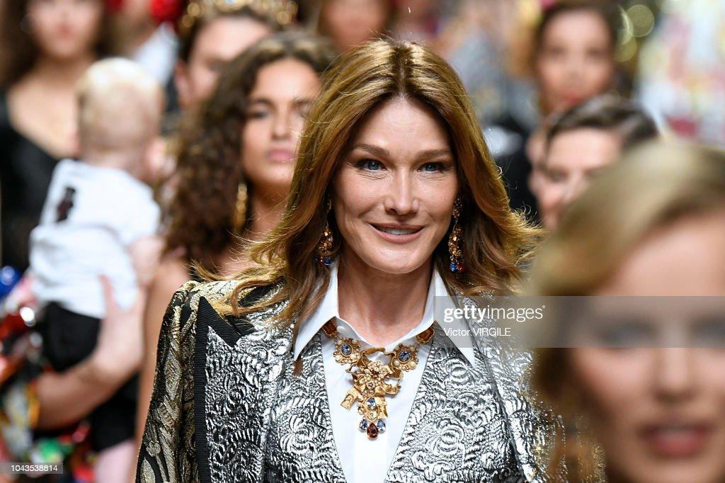 Dolce & Gabbana - Runway - Milan Fashion Week Spring/Summer 2019 : Foto di attualità