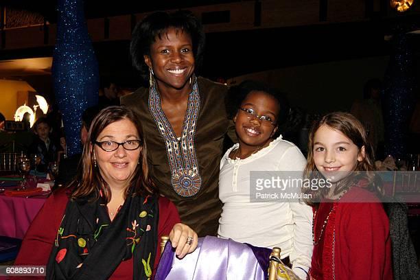 Carla DeLandri Deborah Roberts Leila Roker and Allegra DeLandri attend New York City Opera's Family Benefit Jules Massenets Cendrillon at New York...