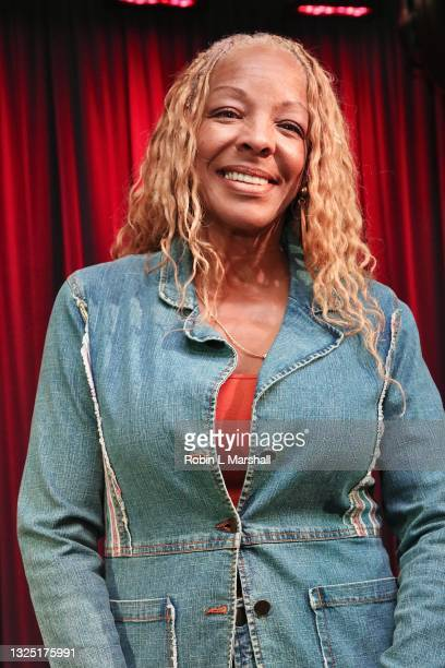 """Carla Earle attends the Grammy Museum & Musicare """"Truth Serum"""" Screening and Panel Discussion at The GRAMMY Museum on June 23, 2021 in Los Angeles,..."""
