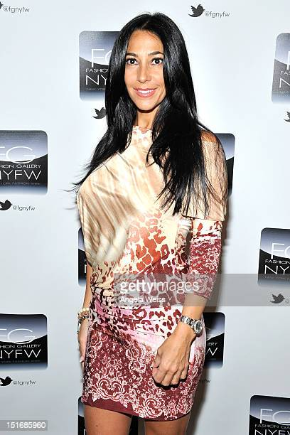 Carla Facciola attends the Anna Francesca Spring 2013 fashion show during MercedesBenz Fashion Week at Helen Mills Event Space on September 9 2012 in...