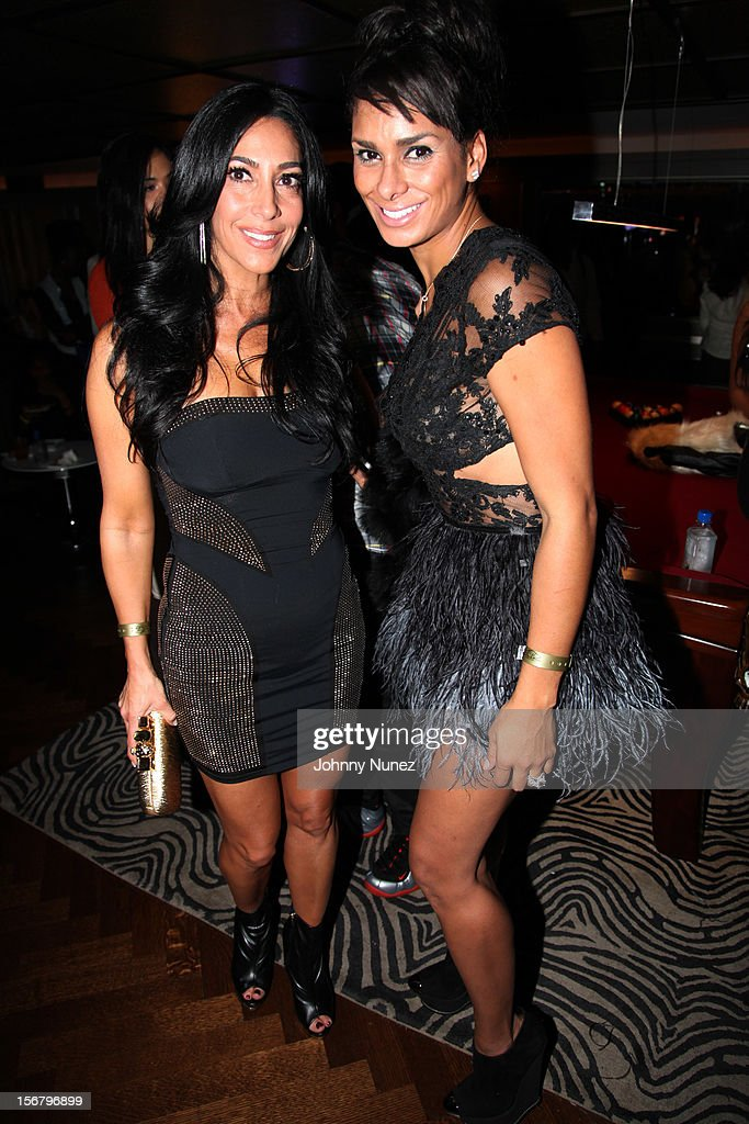 Carla Facciolo and Laura Govan attend Rihanna's 'Unapologetic' Record Release Party at 40 / 40 Club on November 20, 2012 in New York City.