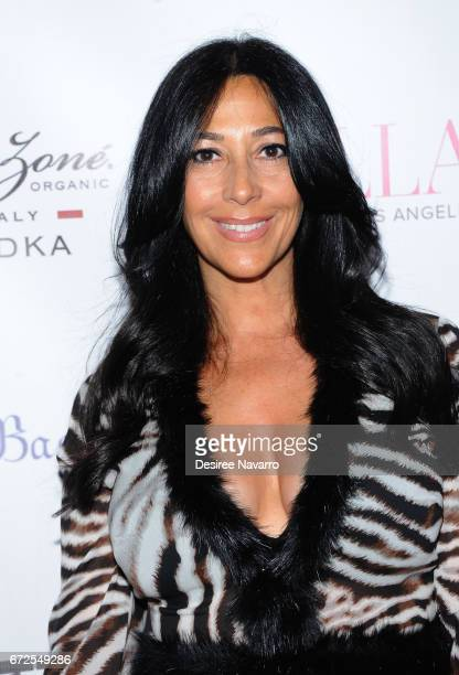 Carla Facciolo attends BELLA New York Spring Issue Cover Party hosted by Kelly Osbourne at Bagatelle on April 24 2017 in New York City