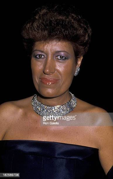 Carla Fendi attends Actor's Fund Benefit on September 12 1987 at the Beverly Hills Hotel in Beverly Hills California