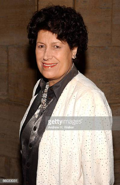 Carla Fendi attends the Fendi 80th Anniversary Party Hosted By Karl Lagerfeld on October 29 2005 in New York City