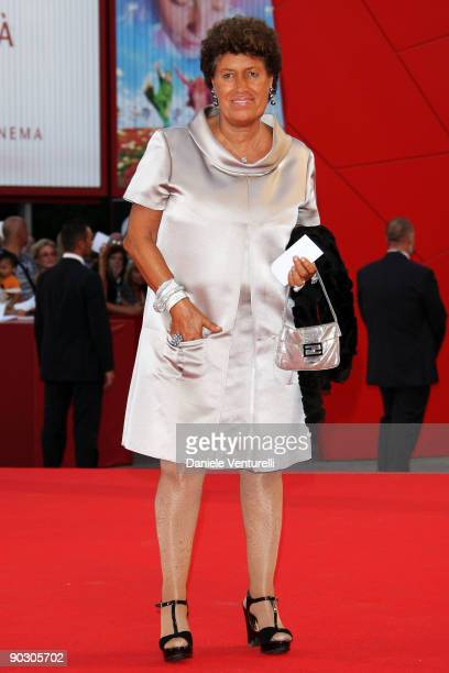 Carla Fendi attends the Opening Ceremony and 'Baaria' Premiere at the Sala Grande during the 66th Venice International Film Festival on September 2...