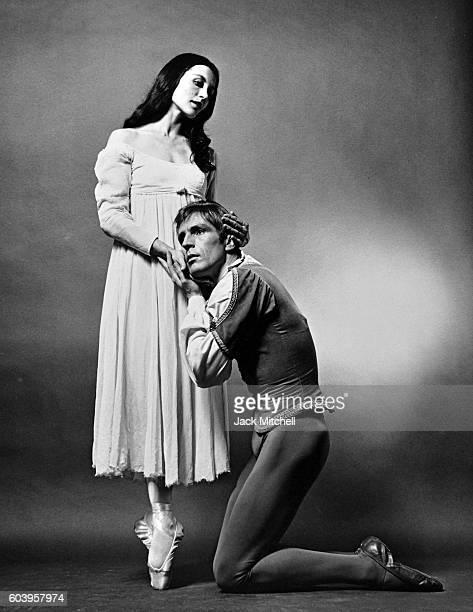 Carla Fracci and Erik Bruhn in Romeo and Juliet 1967