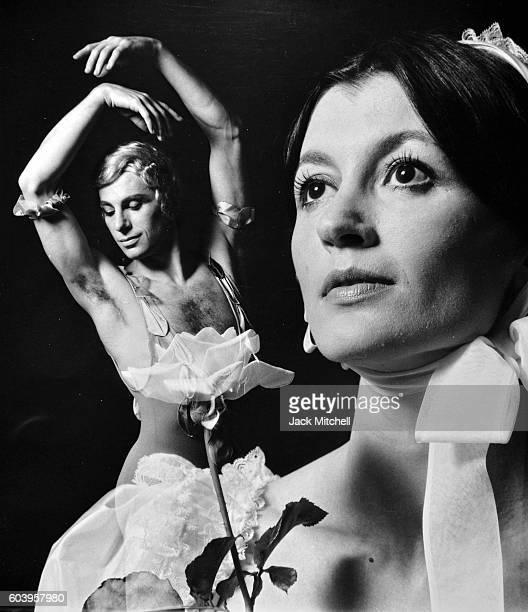 Carla Fracci and Paolo Bertoluzzi in Le Spectre de la Rose 1972