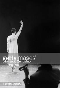Carla Fracci in Giselle and Beppe Menegatti, Teatro Nuov di Milan, 1994-