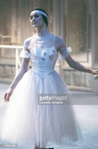 Carla Fracci Italian Dancer Ballet Milan Italy March 1993
