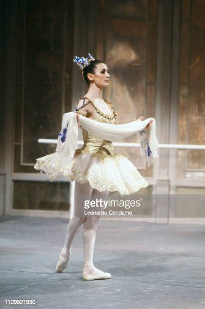 Carla Fracci, Italian Dancer Ballet, Milan, Italy, March 1993.