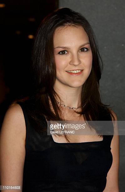 Carla Gallo at the Museum of Modern Art for 'A Work in Progress An evening with David Russell' in New York United States on April 10 2002 A work in...