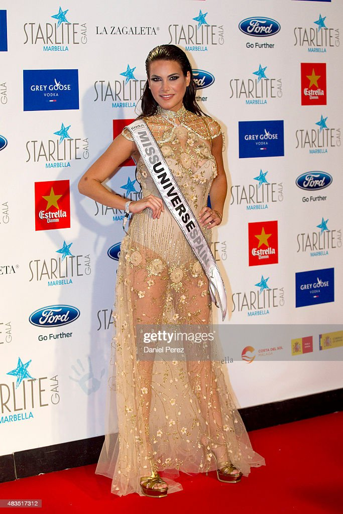 Carla Garcia attends Starlite Gala on August 9, 2015 in Marbella, Spain.