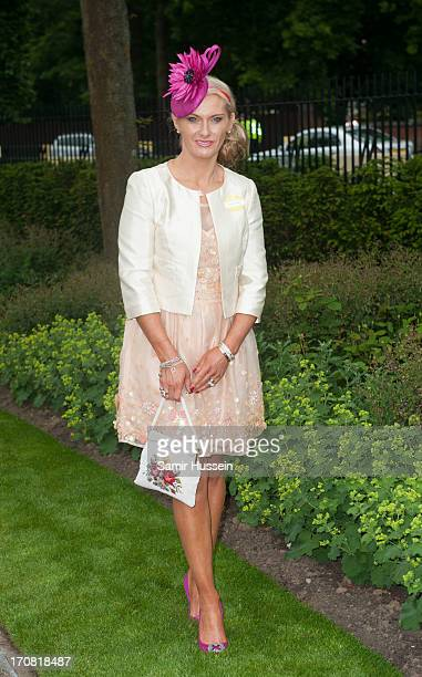 Carla Germaine attends day 1 of Royal Ascot at Ascot Racecourse on June 18 2013 in Ascot England