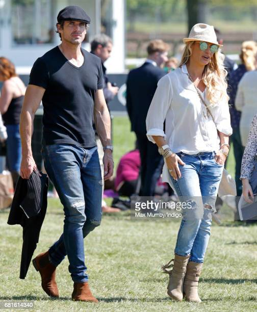 Carla Germaine attends day 1 of the Royal Windsor Horse Show in Home Park on May 10 2017 in Windsor England