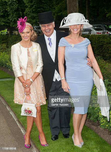 Carla Germaine Eamonn Holmes and Ruth Langsford attend day 1 of Royal Ascot at Ascot Racecourse on June 18 2013 in Ascot England