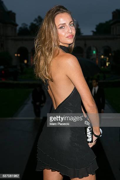 Carla Ginola Attends Nikelab X Olivier Rousteing Football Nouveau Collection Launch Party At Cite Universitaire On