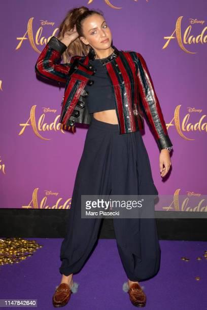 "Carla Ginola attends the ""Aladdin"" Paris Gala Screening at Cinema Le Grand Rex on May 08 2019 in Paris France"
