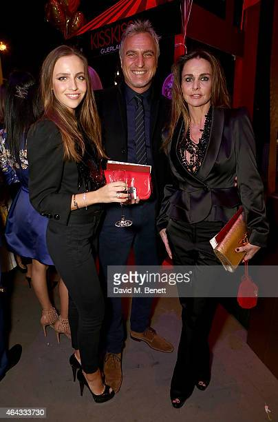 Carla Ginola David Ginola and Coraline Ginola attend the The World's First Fabulous Fund Fair hosted by Natalia Vodianova and Karlie Kloss in support...