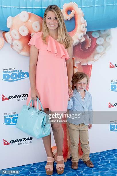 Carla Goyanes attends 'Buscando a Dori' premiere at Kinepolis Cinema on June 19 2016 in Madrid Spain