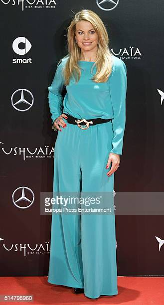Carla Goyanes attends the presentation of the new Smart Ushuaia Limited Edition 2016 on March 10 2016 in Madrid Spain