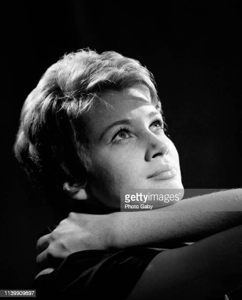 Carla Gravina, Italian actress and politician. Taken in Rome in 1960.