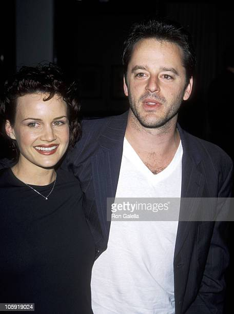 Carla Gugino and Gil Bellows during 'Judas Kiss' Los Angeles Screening April 20 1999 at The Green Theater at The Pacific Design Center in Los Angeles...