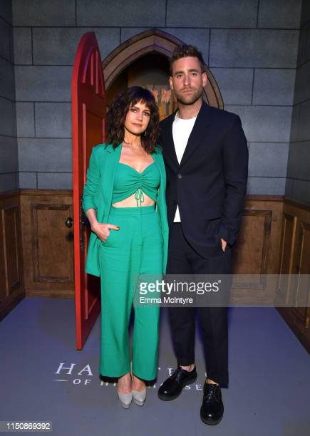 "Carla Gugino and Oliver Jackson-Cohen attend the Netflix FYSEE Event for ""Haunting of Hill House"" at Raleigh Studios on May 21, 2019 in Los Angeles,..."