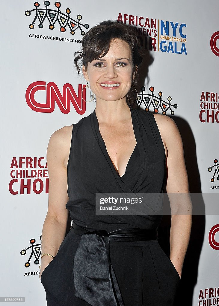 Carla Gugino attends the 4th annual African Children's Choir Fundraising Gala at City Winery on December 3, 2012 in New York City.