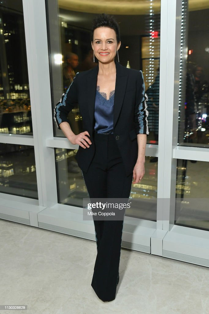 InStyle Dinner To Celebrate The April Issue Hosted By Cover Star Ciara and Laura Brown : News Photo