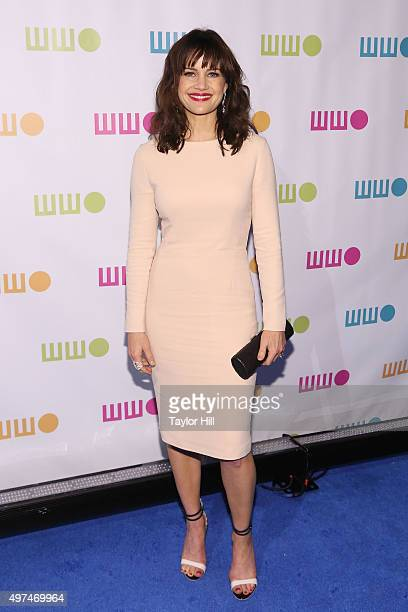 Carla Gugino attends Worldwide Orphans 11th Annual Gala at Cipriani on November 16 2015 in New York City