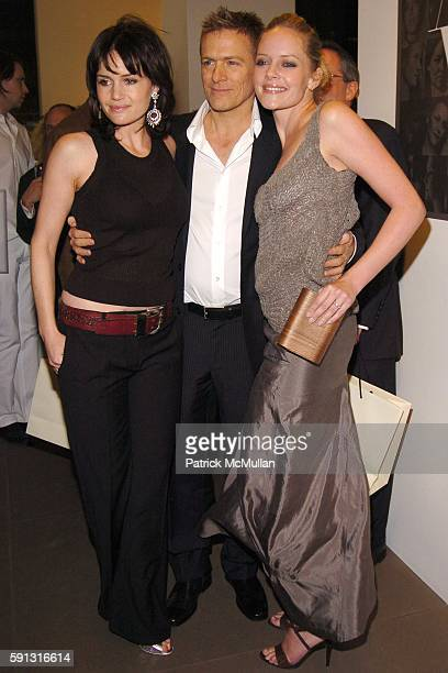 Carla Gugino Bryan Adams and Marley Shelton attend Calvin Klein hosts a party to celebrate Bryan Adams' new photo book American Women to benefit The...