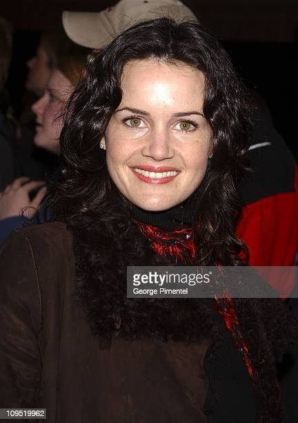 "Carla Gugino during 2003 Sundance Film Festival - ""The Signing Detective"" Premiere at Eccles in Park City, Utah, United States."