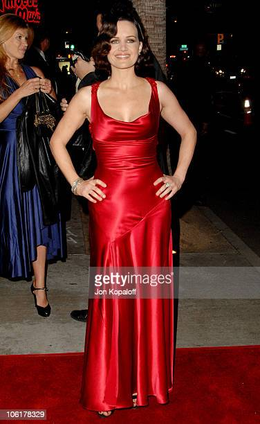 Carla Gugino during 'Entourage' Third Season Premiere in Los Angeles Arrivals at ArcLight Cinerama Dome in Hollywood California United States