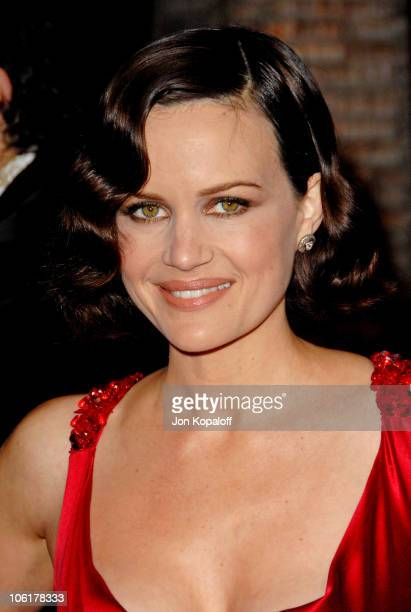 Carla Gugino during Entourage Third Season Premiere in Los Angeles Arrivals at ArcLight Cinerama Dome in Hollywood California United States