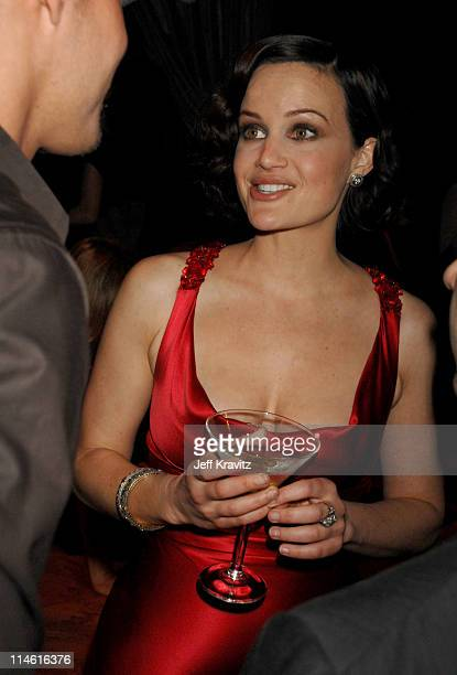 Carla Gugino during Entourage Third Season Premiere in Los Angeles After Party in Los Angeles California United States