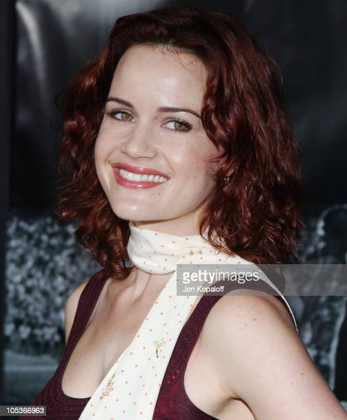 """Carla Gugino during """"Friday Night Lights"""" - World Premiere at Grauman's Chinese Theatre in Hollywood, California, United States."""