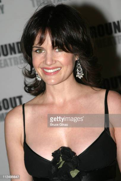 Carla Gugino during Roundabout Theatre Company's 2005 Spring Gala Celebration at Pier 60 at Chelsea Piers in New York, NY, United States.