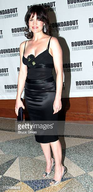 Carla Gugino during Roundabout Theatre Company's 2005 Spring Gala Celebration at Pier 60 at Chelsea Piers in New York NY United States