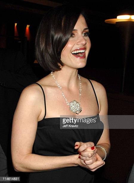 """Carla Gugino during """"The Lookout"""" Los Angeles Premiere - After Party at Egyptian Theater in Hollywood, California, United States."""