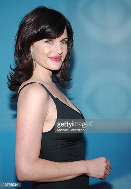 Carla Gugino Starring in 'Threshold' during 2005/2006 CBS Prime Time UpFront at Tavern on the Green Central Park in New York City New York United...