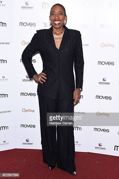 Carla Harris VC Wealth Management Morgan Stanley attends the New York Moves 2016 Power Women Awards at India House Club on November 11 2016 in New...