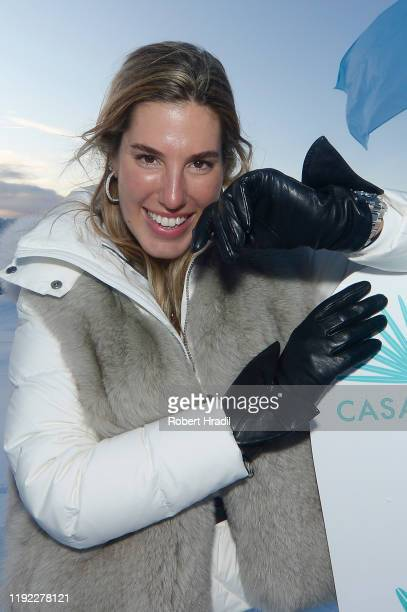 Carla Hinojosa attends Casamigos in the Snow on December 04 2019 in Verbier Switzerland