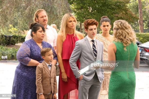 Carla Jimenez Jack Stanton Scott MacArthur Kaitlin Olson Thomas Barbusca and Sofia BlackDElia in the 'The Lovers' episode of THE MICK airing Tuesday...
