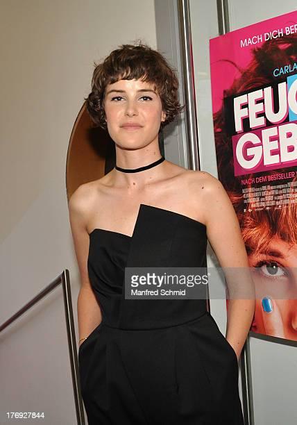 Carla Juri attends 'Feuchtgebiete' Austria Premiere Party at Urania Kino on August 19 2013 in Vienna Austria